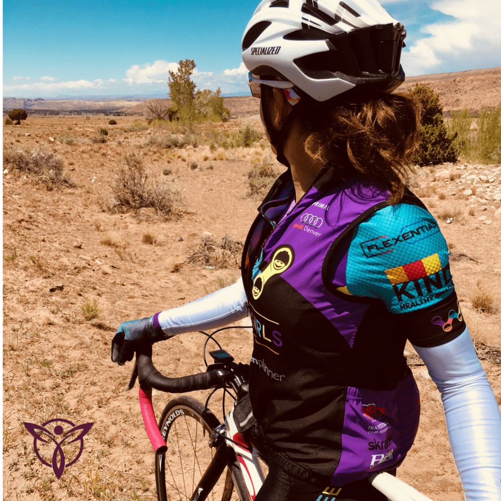 Teena-on-a-bike-ride-in-Moab