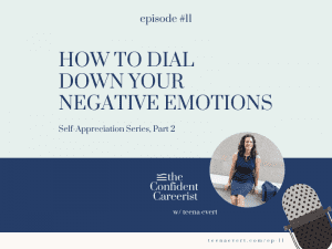 Episode #11 How to Dial Down Your Negative Emotions