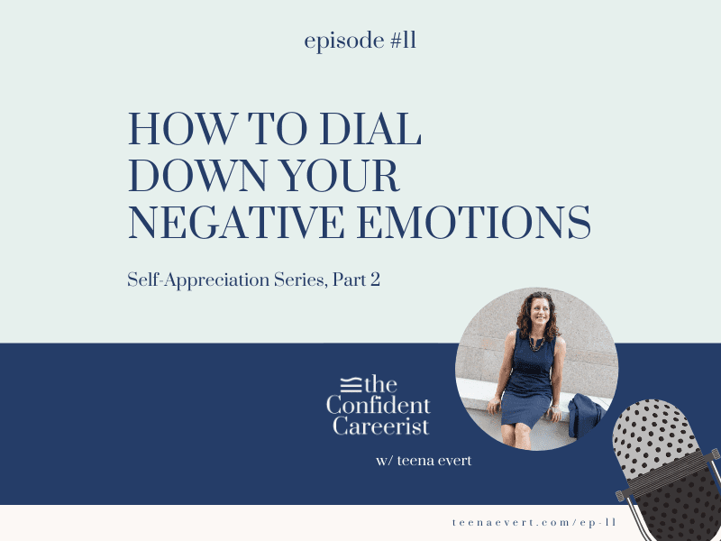 Episode #11: How to Dial Down Your Negative Emotions