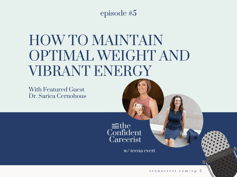Episode #5: How to Maintain Optimal Weight and Vibrant Energy