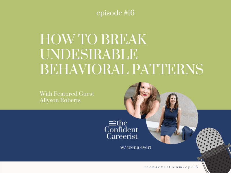 Episode #16: How to Break Undesirable Behavioral Patterns