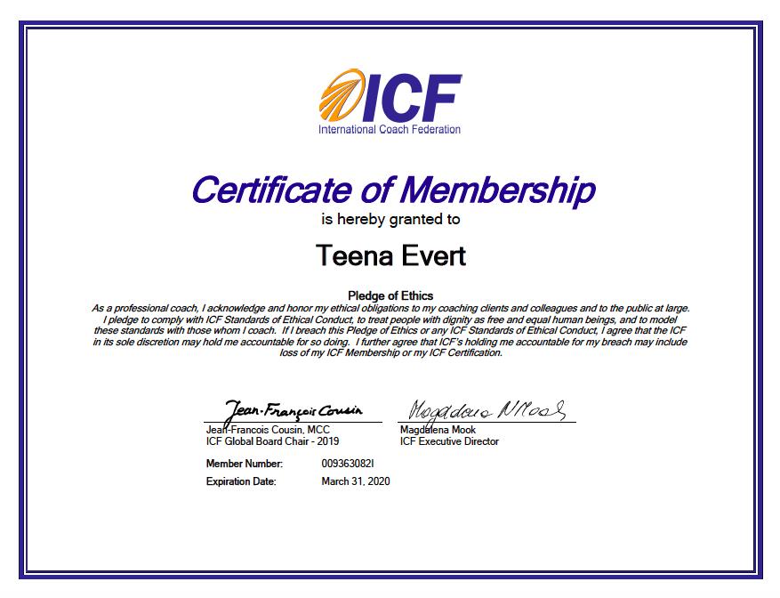 ICF-Membership-Certificate