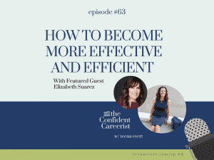 Episode #63 How to Become More Effective and Efficient (without failing)
