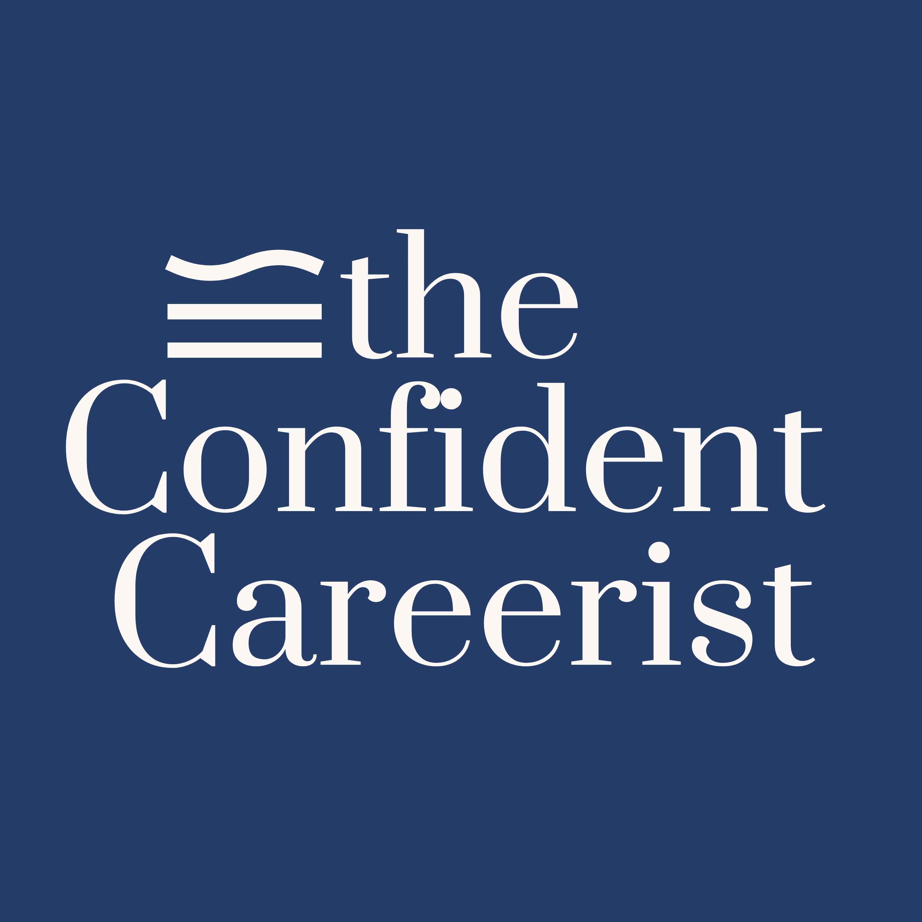The Confident Careerist Podcast Show Cover
