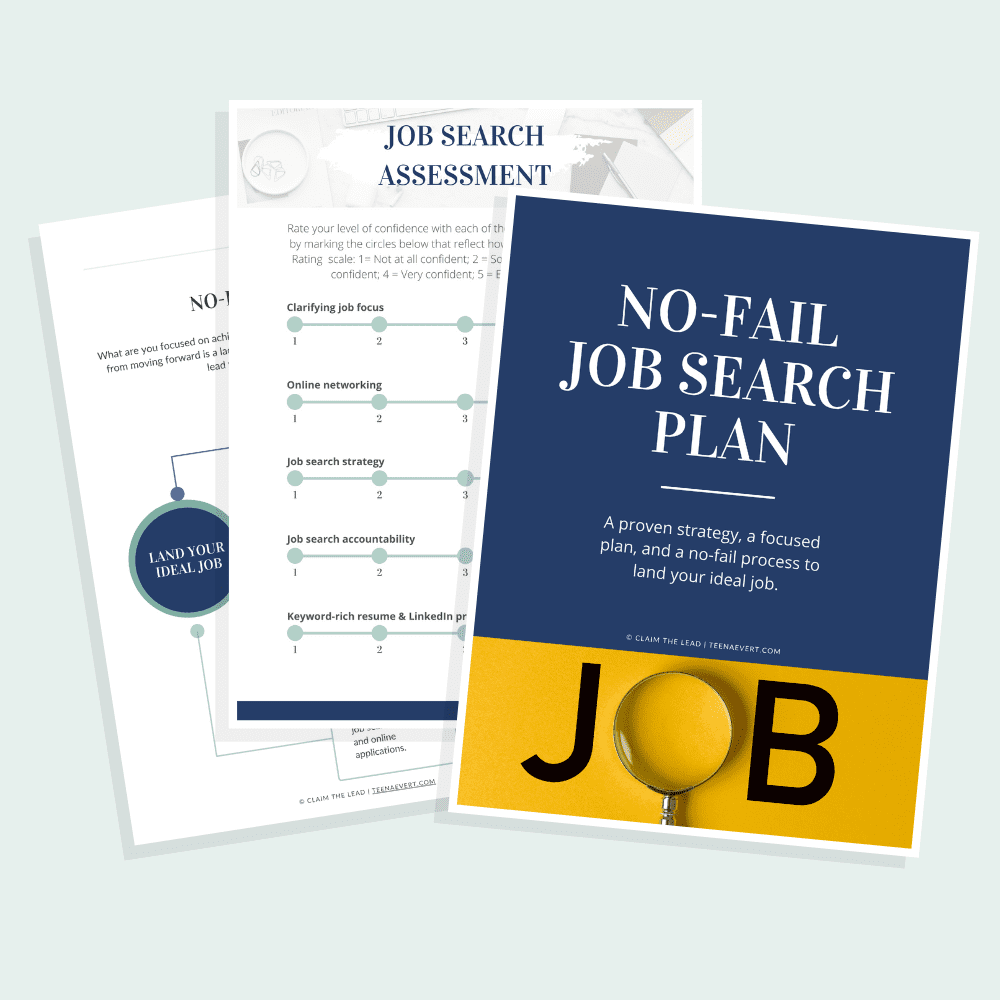 No-Fail Job Search Plan