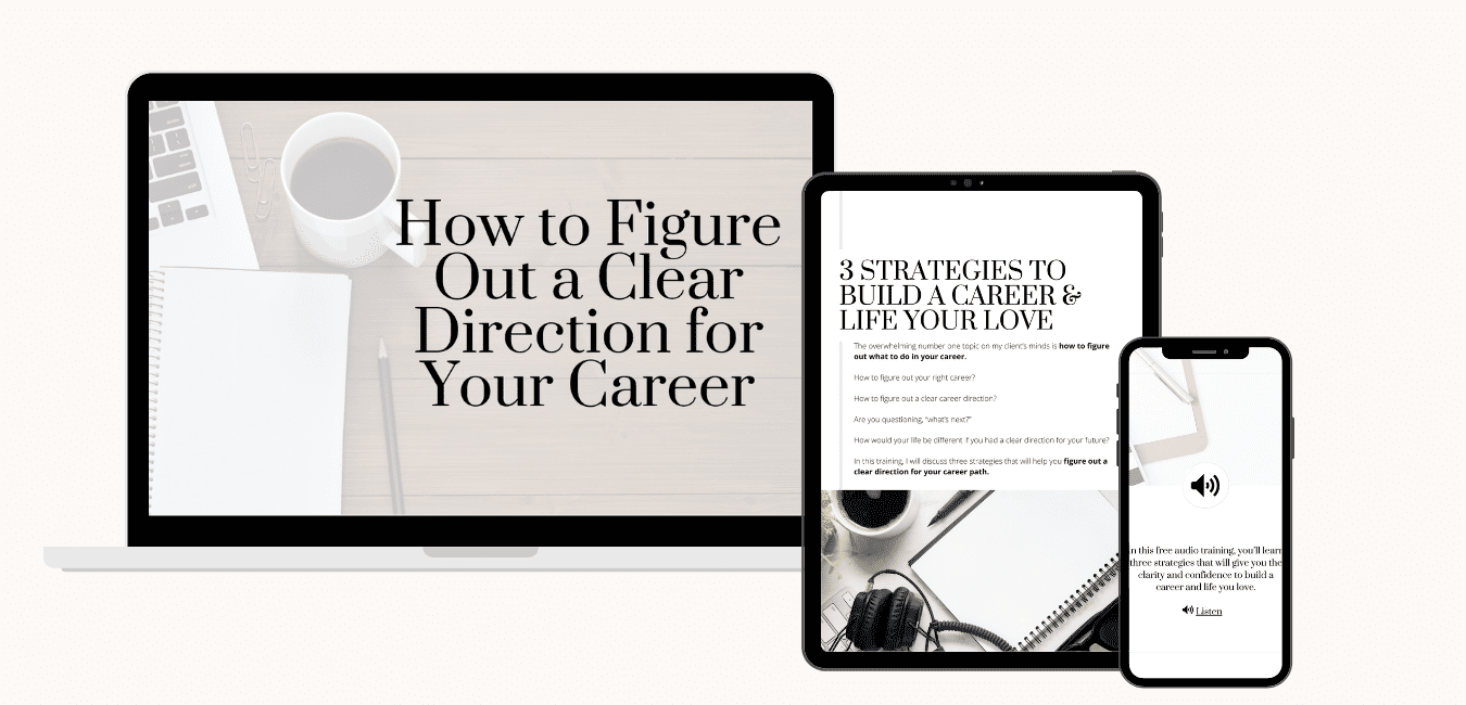 How to Figure Out a Clear Direction in Your Career